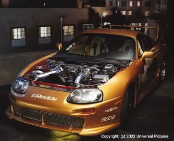 2fast 2furious 5 on nissan skyline gtr car